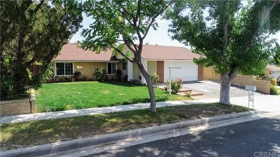 Saugus Single Family Home For Sale: 22612 Pamplico Drive