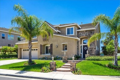 Saugus Single Family Home For Sale: 22050 Sunrise View Place
