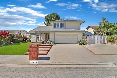 Valencia Single Family Home For Sale: 23018 Cuervo Drive