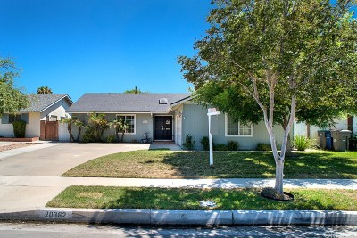 Canyon Country Single Family Home For Sale: 20362 Fairweather Street