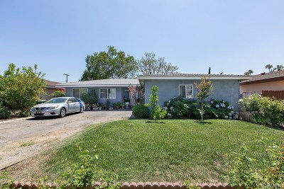 North Hollywood Single Family Home For Sale: 13156 Arminta Street