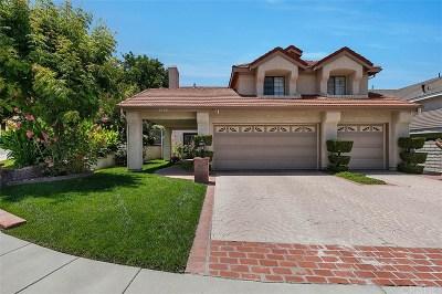 Stevenson Ranch Single Family Home For Sale: 25305 Joyce Place