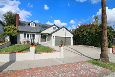 Burbank Single Family Home For Sale: 506 North Bel Aire Drive