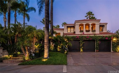 Calabasas Single Family Home For Sale: 3814 Park Oeste