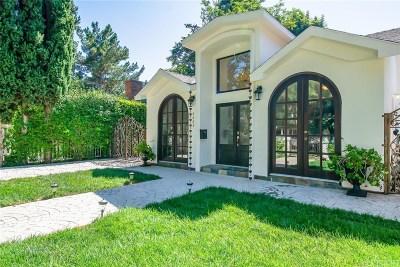 Sherman Oaks Single Family Home For Sale: 4443 Vesper Avenue