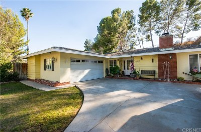 Saugus Single Family Home For Sale: 27915 Featherstar Avenue