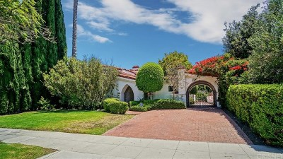 Beverly Hills Single Family Home For Sale: 110 North Palm Drive