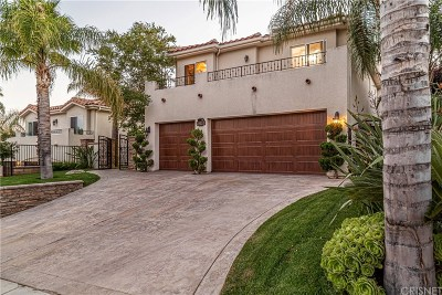 Saugus Single Family Home For Sale: 29129 Singing Wood Drive