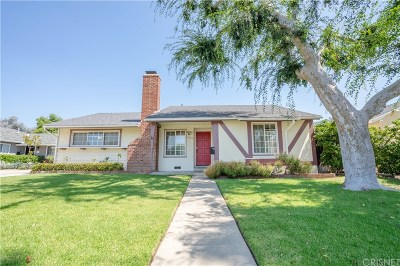 Mission Hills San Fernando Single Family Home For Sale: 15123 Hiawatha Street