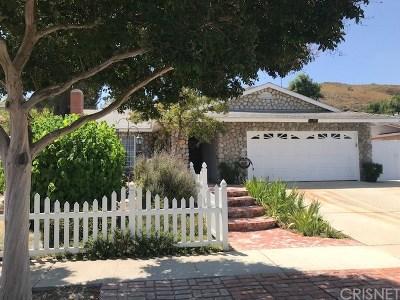 Simi Valley Single Family Home For Sale: 844 Erringer Road