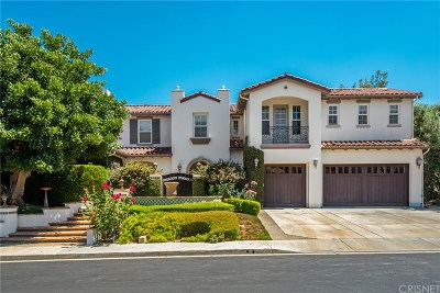 Calabasas Single Family Home For Sale: 5718 Limoges Court