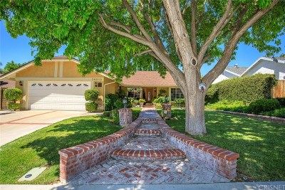 Saugus Single Family Home For Sale: 20818 Benz Road