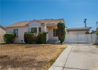 North Hollywood Single Family Home For Sale: 7858 Shadyglade Avenue