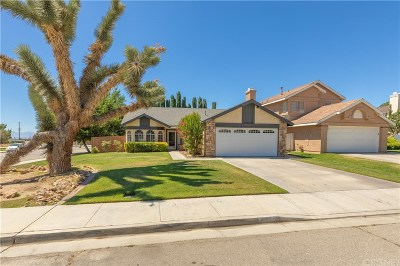 Rosamond Single Family Home For Sale: 4360 San Juan Court