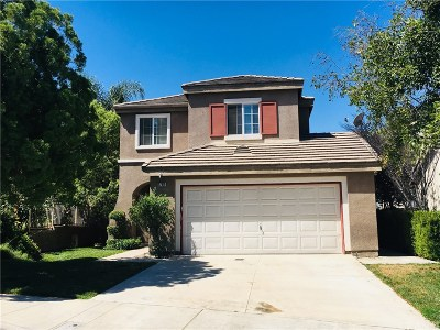 Valencia CA Single Family Home For Sale: $599,000