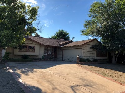 Single Family Home For Sale: 10401 Ruffner Avenue