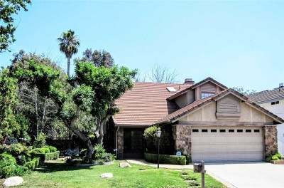 Calabasas Single Family Home For Sale: 26821 Cold Springs Street