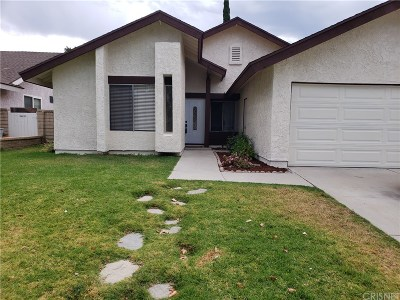 Los Angeles County Single Family Home Active Under Contract: 27564 Cherry Creek Drive