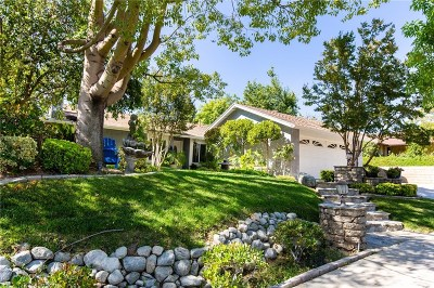 Saugus Single Family Home For Sale: 22647 Barcotta Drive