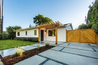 Sherman Oaks Single Family Home For Sale: 5447 Halbrent Avenue