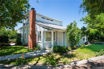 La Crescenta Single Family Home For Sale: 3700 Santa Carlotta Street