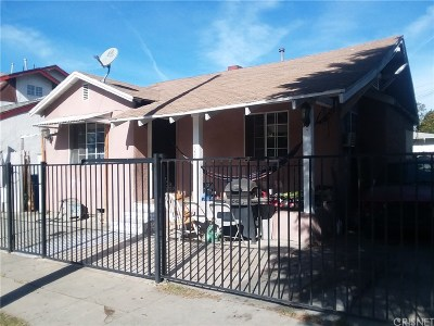 Los Angeles CA Single Family Home For Sale: $505,000