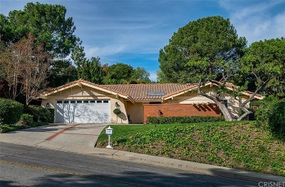 Tarzana Single Family Home For Sale: 19779 Greenbriar Drive