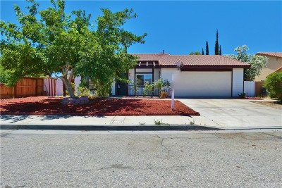 Palmdale Single Family Home For Sale: 4530 Table Mountain Road