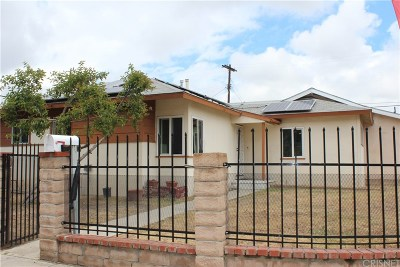 Arleta Single Family Home For Sale: 9070 Cranford Avenue