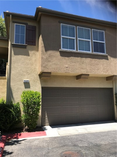 Stevenson Ranch Condo/Townhouse For Sale: 25225 Bishop Court