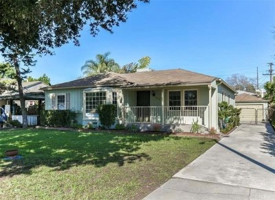 Burbank Single Family Home For Sale: 363 West Spazier Avenue