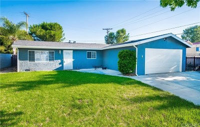 Canyon Country Single Family Home For Sale: 18708 Mandan Street