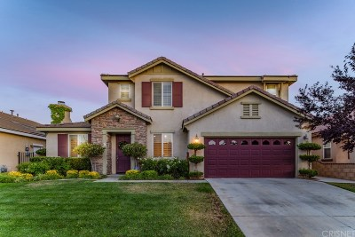 Palmdale Single Family Home For Sale: 3400 Tournament Drive
