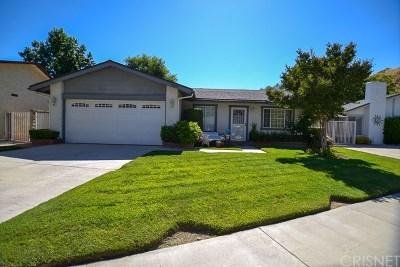 Valencia Single Family Home For Sale: 25891 Ramillo Way