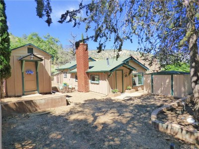 Frazier Park Single Family Home For Sale: 4333 Alcot