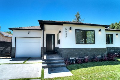 Encino Single Family Home For Sale: 5645 Hesperia Avenue