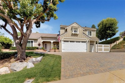 Simi Valley Single Family Home Active Under Contract: 243 Trickling Brook Court