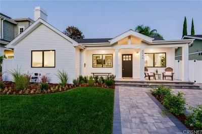 Studio City Single Family Home For Sale: 4544 Van Noord Avenue