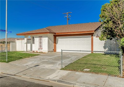 Palmdale Single Family Home For Sale: 37601 29th Street East