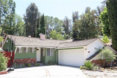 Woodland Hills Single Family Home For Sale: 4889 Escobedo Drive