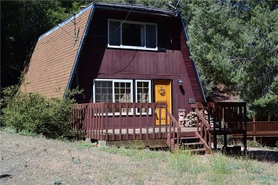 Pine Mountain Club CA Single Family Home For Sale: $237,500