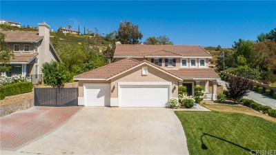 Canyon Country Single Family Home For Sale: 29536 Mammoth Lane
