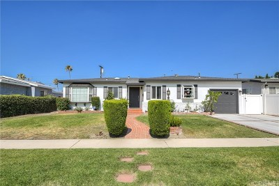 North Hollywood Single Family Home For Sale: 8143 Morse Avenue
