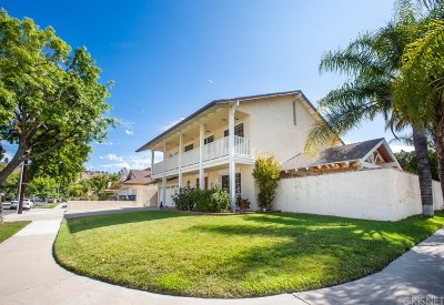 Canyon Country Single Family Home For Sale: 27536 Glasser Avenue