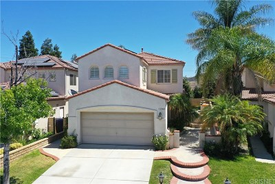 Castaic Single Family Home For Sale: 32040 Cypress Way