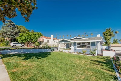 Glendale Single Family Home For Sale: 1360 Raymond Avenue