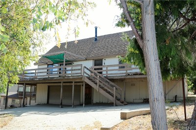 Pine Mountain Club CA Single Family Home For Sale: $260,000