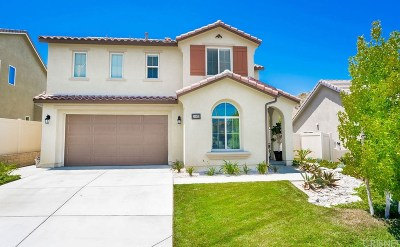 Canyon Country Single Family Home Active Under Contract: 26859 Cherry Willow Drive