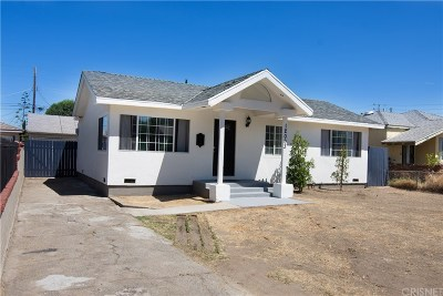 Sun Valley Single Family Home For Sale: 12003 Neenach Street