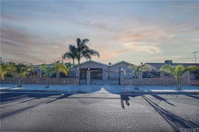 North Hollywood Single Family Home For Sale: 8131 Nagle Avenue